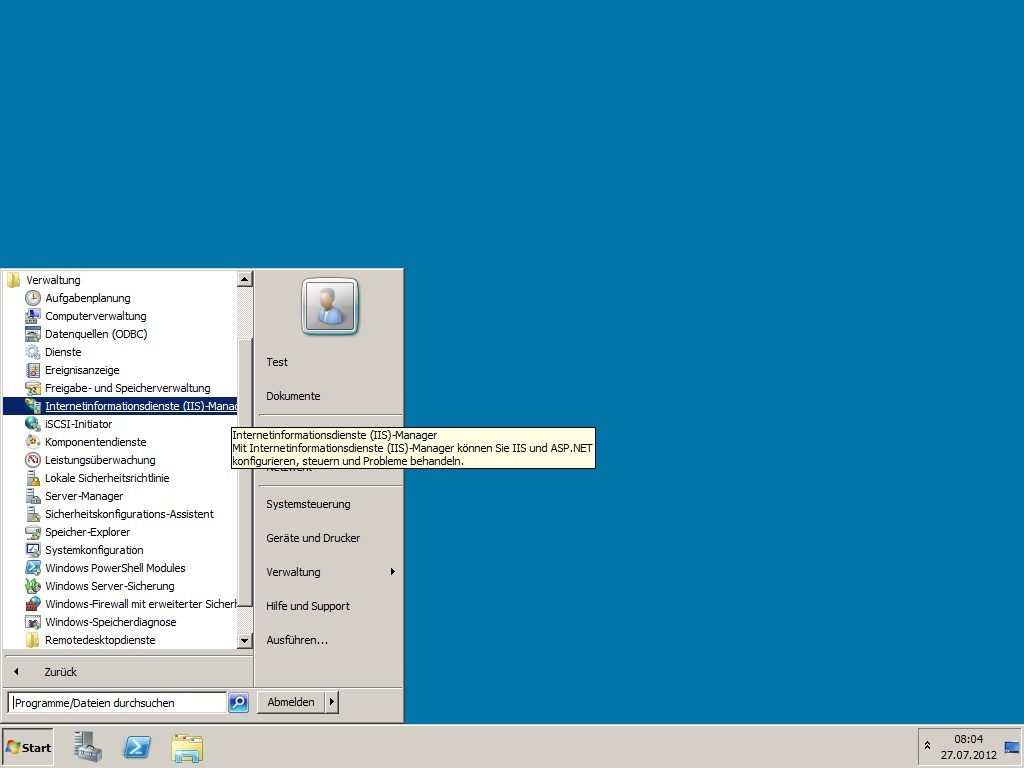 Faq Zertifikatsanforderung Csr Mit Windows Iis 75 Erstellen